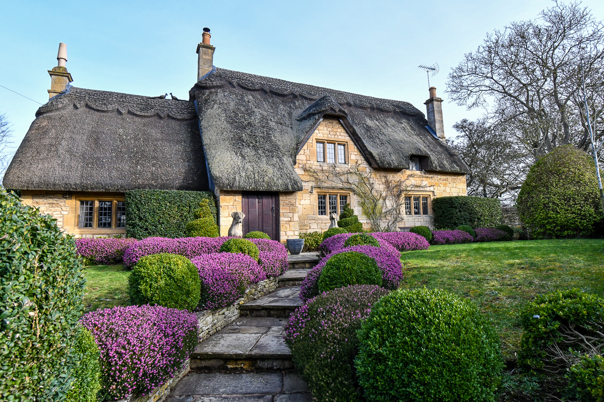 Chipping Campden Thatched Houses